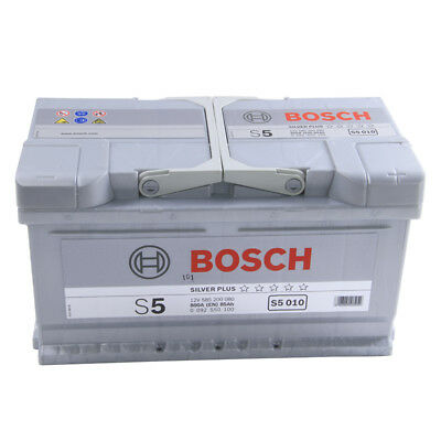 Type 110 Car Battery 800CCA Bosch 12V 85Ah 5 Years Wty Sealed OEM Replacement
