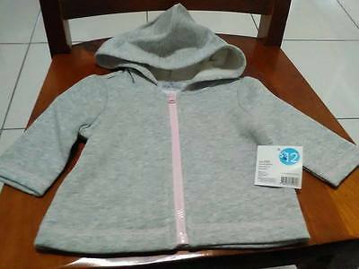 Baby Girls Zip Jacket with Hood .... BRAND NEW WITH TAG *