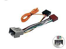 CT20LR04 Car Stereo Radio ISO Wiring Harness Adaptor For Land Rover Freelander