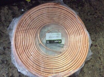 Air Conditioning Copper Tube Refrigeration Grade Pipe 3/8x0.032x15m