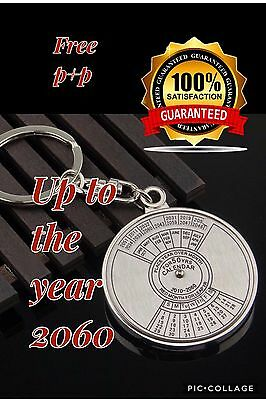 Chinese Calendar Keychain. Works up to 2060..New and unused. Free Postage