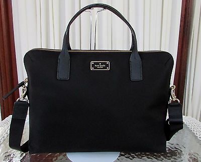Kate Spade Blake Avenue Daveney Laptop Computer Bag Briefcase Black NWT $248