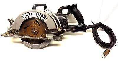 SEARS/CRAFTSMAN / INDUSTRIAL / 7 1/4 in. WORM DRIVE SAW / 135.276103 / U.S.A.!!!