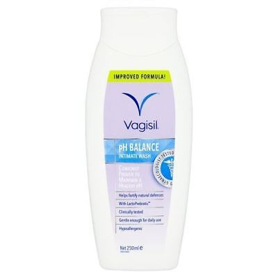 Vagisil Intimate Wash pH Balanced 250ml 1 2 3 6 12 Packs