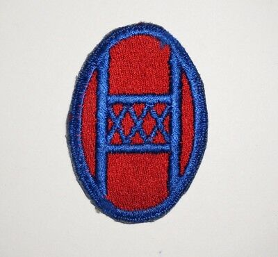 30th Infantry Division Patch WWII US Army P5563