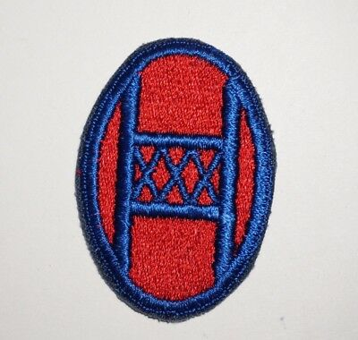30th Infantry Division Patch WWII US Army P5565