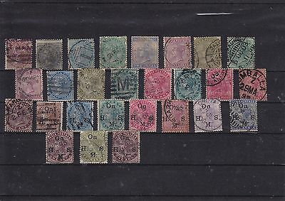 India - Victorian stamps