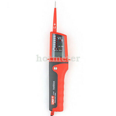 UNI-T UT15C Voltage Tester LED LCD Display Continuity Pen Meters Tester