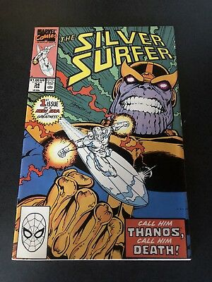 Silver Surfer 34 Infinity Gauntlet Begins Thanos CGC CBCS It!