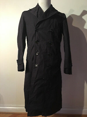 4f8077ad787 RARE VINTAGE US NAVY TRENCH COAT SIZE SMALL 1950 s 1960 s US ARMY USN  ORIGINAL!