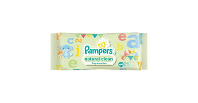 Lingettes Pampers Naturel Clean 10 packs de 64 lingettes