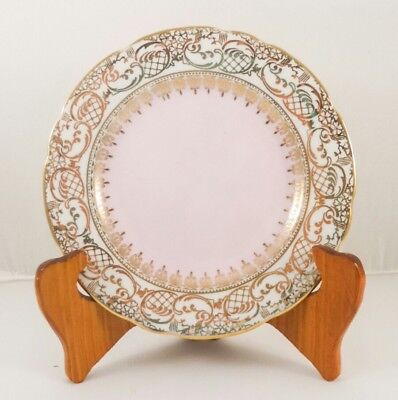 Royal Stafford Pink Gold Vintage Shabby chic Bread and butter plate English