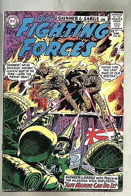 Our Fighting Forces #83-1964 vg+ Kubert Gunner & Sarge