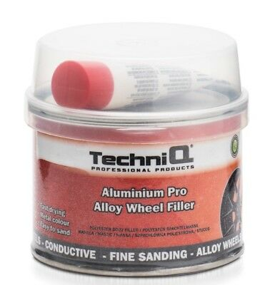 CAR ALUMINUM Alloy Wheel Repair Filler 250G Aluminium Filler FREE POST