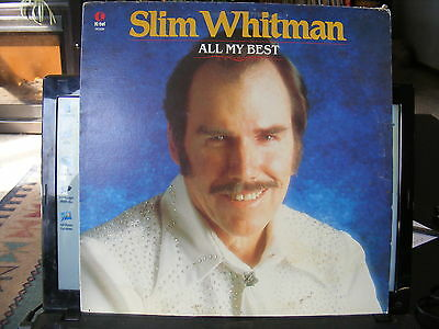 Slim Whitman All My Best  (1980 ) Vinyl LP  33 rpm