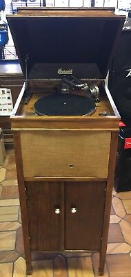 Antique Brunswick Floor Model 207 Phonograph