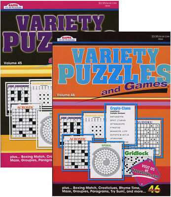 KAPPA VARIETY PUZZLES & GAMES BOOK > (Case of 48)