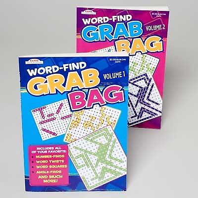 GRAB BAG WORD FIND BOOK > (Case of 120)