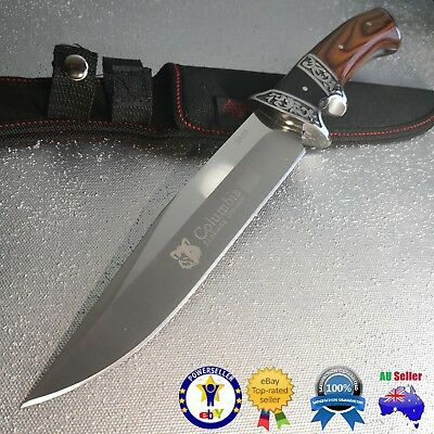 Survival Hunting Camping Sharp Knife Full Tang Knife