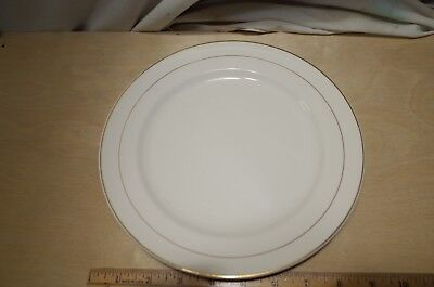 Knowles CLASSIC China VINTAGE MID CENTURY Modern Plate GOLD E-4069 LUNCH DINNER