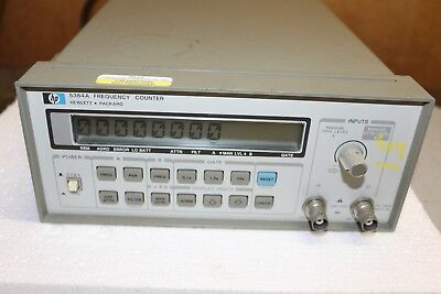 HP 5384A Frequency Counter   Hewlett Packard 5384A