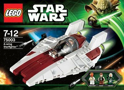 Brand New Sealed Lego Star Wars 75003 A Wing Starfighter Retired