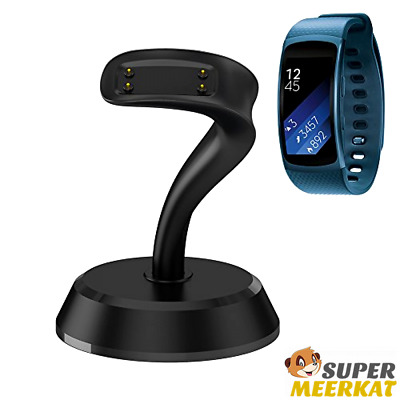 Charging Stand Micro USB Fast Charger Cradle Dock Station For Gear Fit 2 Samsung