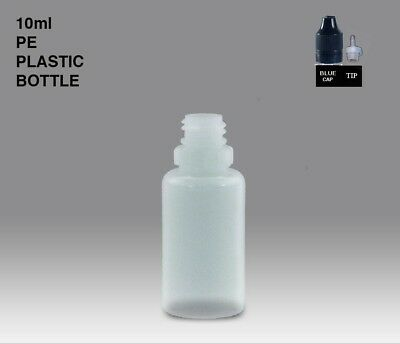 PE liquid Dropper Bottle with Childproof Cap and tip 10ml, 30ml, 50ml 100ml