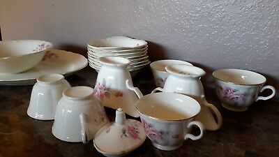 Edwin M. Knowles China Co. SEMI VITREOUS dinnerware, made in U.S.A. 15 piece lot