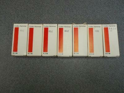 """Lot of 7 Cutler Hammer C320KAZ N.C Aux. Contacts *NEW IN BOX"""""""