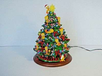 Danbury Mint Tweety Christmas Tree - Looney Tunes - Lighted - Hard to Find/EUC