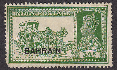 Bahrain SG26 - India stamp with overprint - Mint