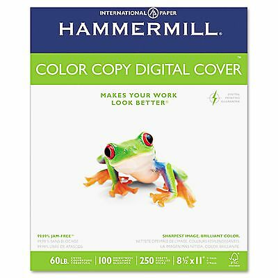 HAMMERMILL 122549 Copy COVER Paper LETTER Size 100 BRIGHT 60 LB 250 Sheets