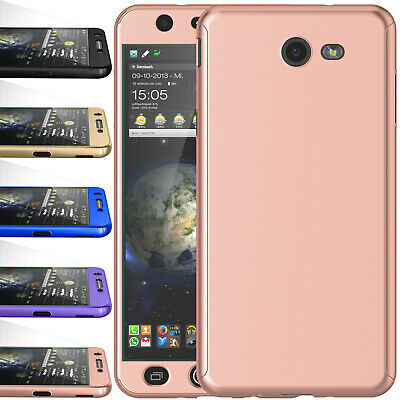 For Samsung Galaxy Halo/J7 V 2017/J7 Prime Screen Protector Full Slim Case Cover