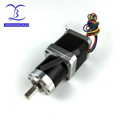 XINHUANGDUO Gear Nema17 1.68A 48mm ratio 100:1 Planetary Gearbox stepper motor