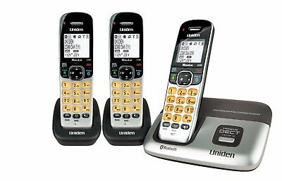 Uniden Premium Dect 3216+2 Cordless Phone Dual Mode Bluetooth Works In Blackouts