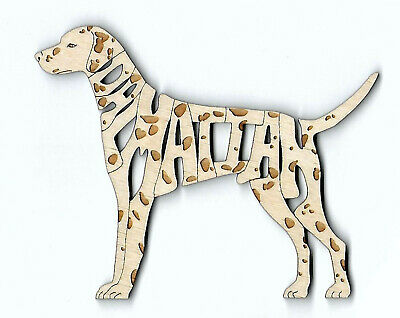 Dalmatian laser cut and engraved wood Magnet