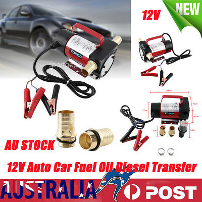 Portable 12V Electric Fuel Oil Diesel Transfer Pumps Car Auto Station 40L/min