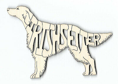Irish Setter laser cut and engraved wood Magnet