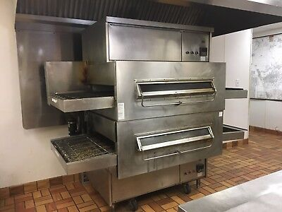 Middleby Marshall 360Q Double Stack Gas Pizza Oven