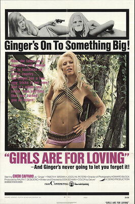 Girls Are for Loving 1973 27x41 Orig Movie Poster FFF-65058 Fine, Very Good
