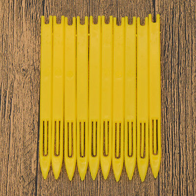 Yellow Netting Needle Shuttle Weaving Loom For Fishing Net Trawl Repair Tool 10x