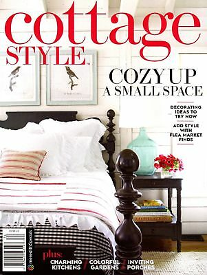 Cottage Style Magazine Fall/Winter 2017 French Chic Flea Market Style Junkover