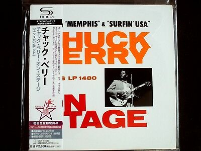 Chuck Berry On Stage Japan SHM-CD Mini LP OBI Brand New UICY-94630 Limited