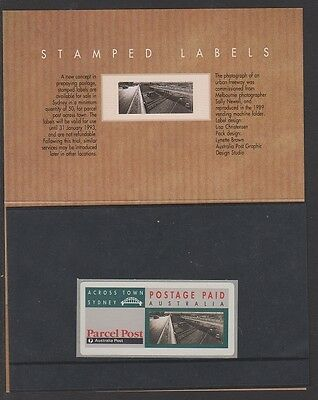 Australia Post Parcel Post Stamped Labels Stamp Packs and First Day Covers