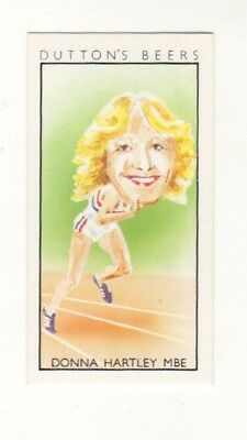 Commonwealth Games Athletics  Card -Donna Hartley