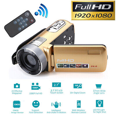 HD 1080P 18X Zoom LCD Night Vision Digital Video Recorder DV Camera Camcorder
