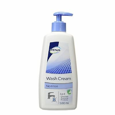 Tena Wash Cream 500ml 1 2 3 6 12 Packs