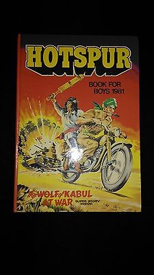 Hotspur Book For Boys 1981,Vintage Annual