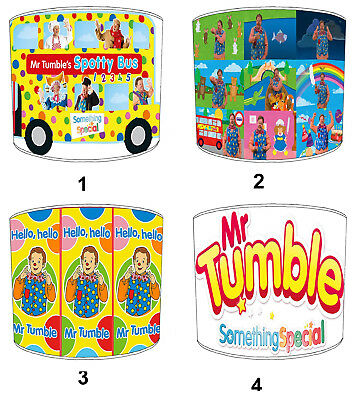 Mr Tumbles Lampshades Ideal To Match Mr Tumbles Duvets & Mr Tumbles Wall Decals